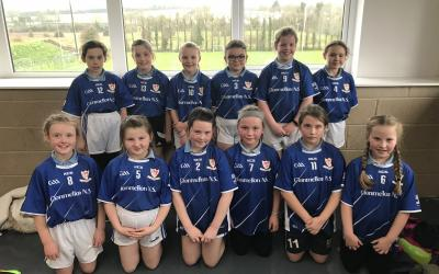 Our school's girls soccer team 3rd and 4th class