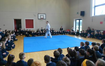 Rodney gave a great demonstration to the school