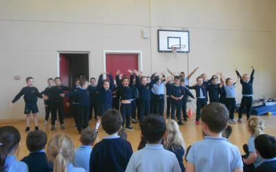 First class perform enthusiastically
